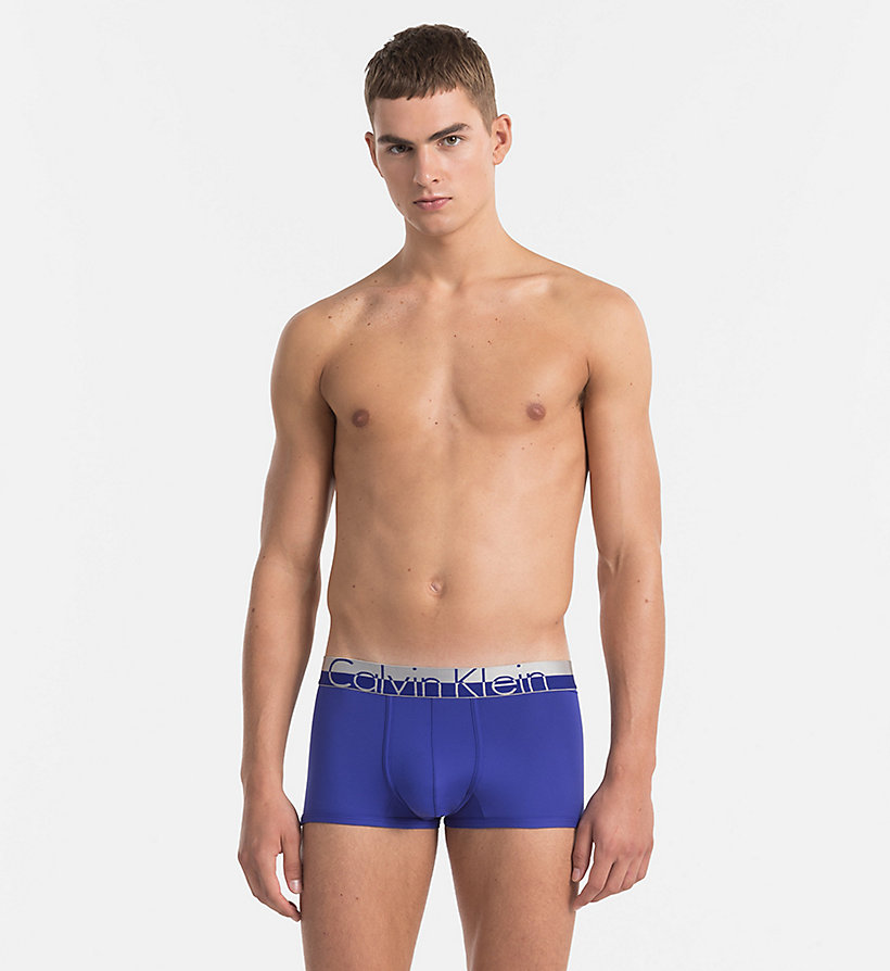 CALVINKLEIN Low Rise Trunks - Magnetic - VERVE - CALVIN KLEIN MEN - main image