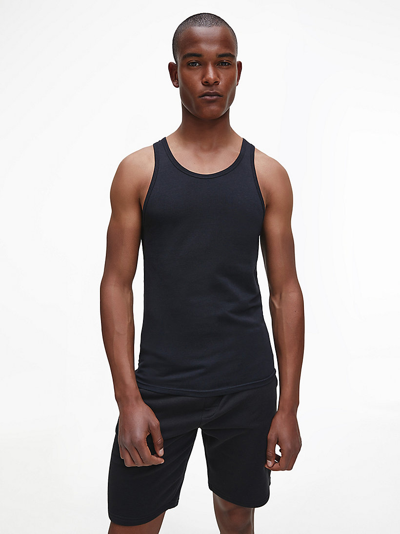 CALVINKLEIN 2 Pack Tank Tops - Modern Cotton - BLACK - CALVIN KLEIN NIGHTWEAR & LOUNGEWEAR - main image