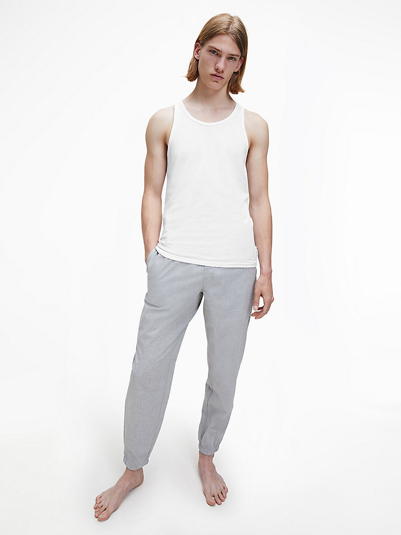 CALVINKLEIN 2 Pack Tank Tops - Modern Cotton - WHITE - CALVIN KLEIN NIGHTWEAR & LOUNGEWEAR - detail image 1