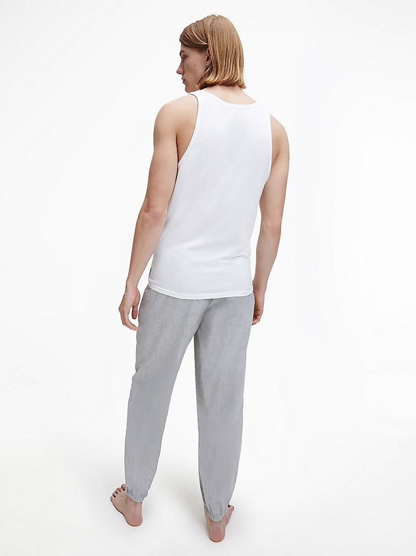 CALVINKLEIN 2 Pack Tank Tops - Modern Cotton - WHITE - CALVIN KLEIN NIGHTWEAR & LOUNGEWEAR - detail image 2