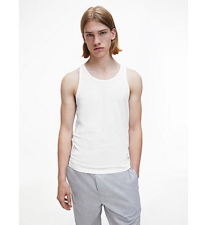 CALVIN KLEIN 2 Pack Tank Tops - Modern Cotton 000NB1099A100