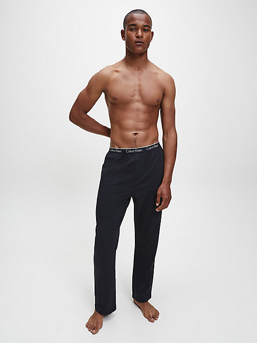 CALVINKLEIN PJ Pants - CK Sleep - BLACK - CALVIN KLEIN NIGHTWEAR & LOUNGEWEAR - detail image 1