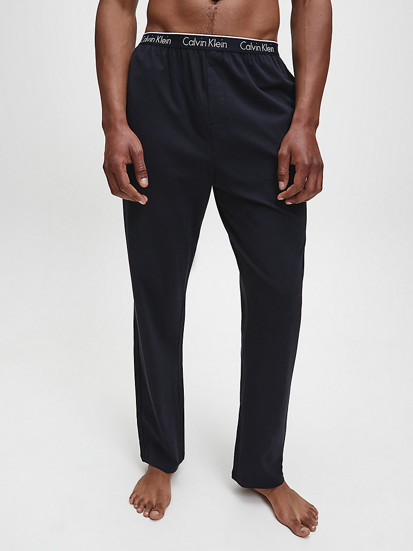 CALVINKLEIN PJ Pants - CK Sleep - BLACK - CALVIN KLEIN MEN - main image