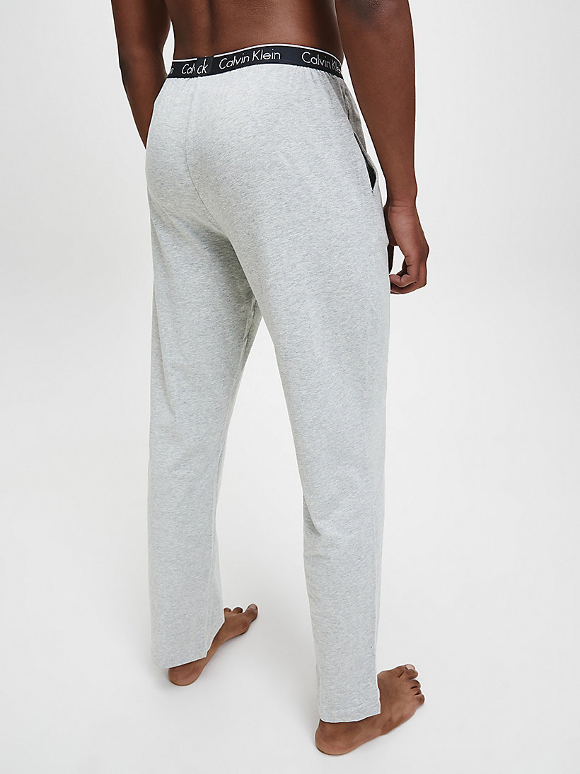 CALVINKLEIN PJ Pants - CK Sleep - GREY HEATHER - CALVIN KLEIN MEN - detail image 2
