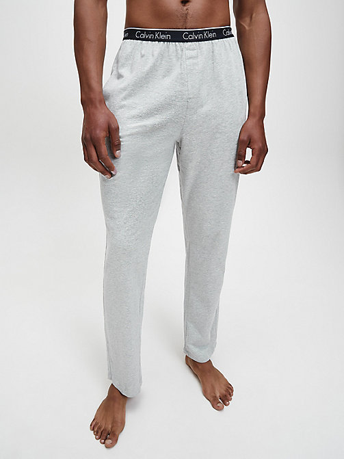CALVINKLEIN PJ-broek - CK Sleep - GREY HEATHER - CALVIN KLEIN HEREN - main image