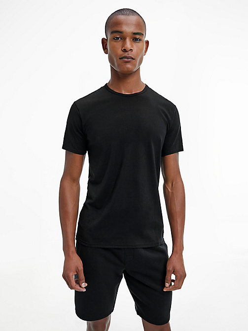 T-shirt - CK Sleep - BLACK - CALVIN KLEIN HEREN - main image