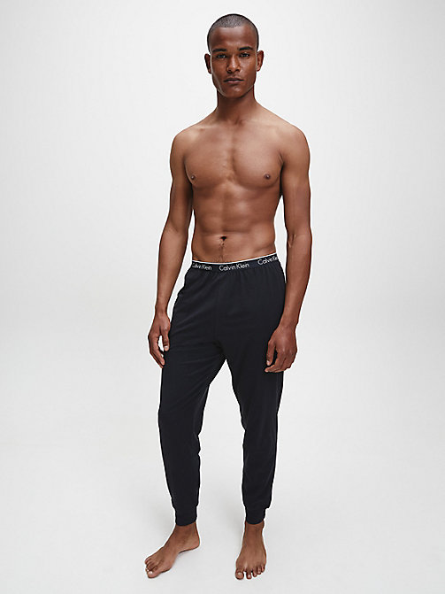 PJ-broek - CK Sleep - BLACK - CALVIN KLEIN HEREN - detail image 1