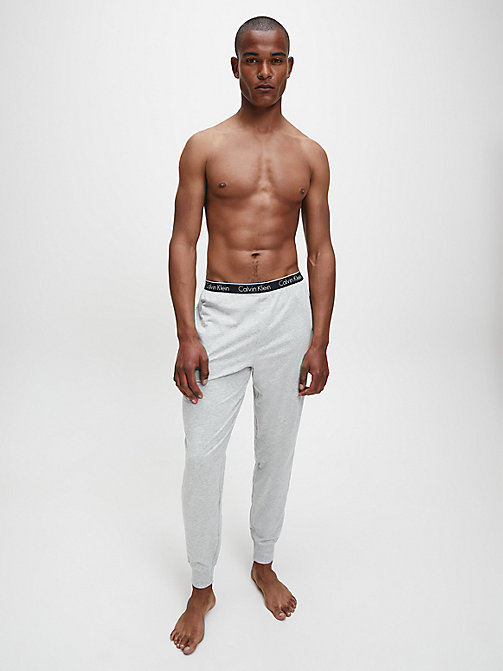 CALVINKLEIN PJ-Hose - CK Sleep - GREY HEATHER - CALVIN KLEIN  - main image 1