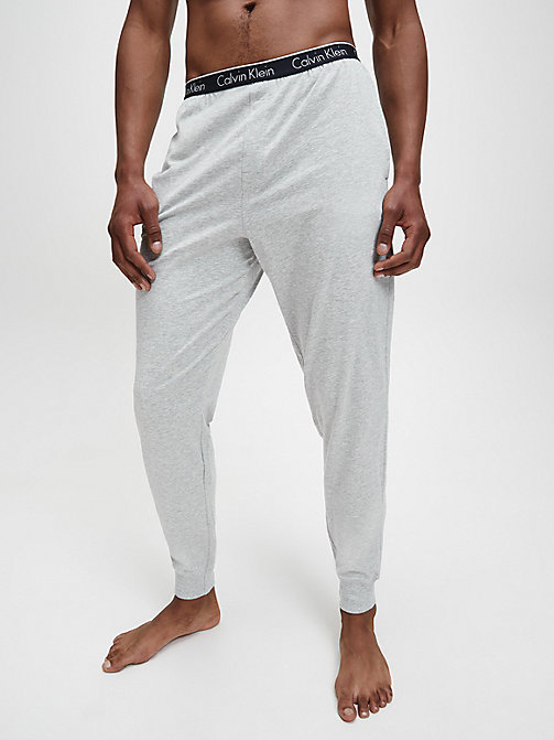PJ-broek - CK Sleep - GREY HEATHER - CALVIN KLEIN HEREN - main image