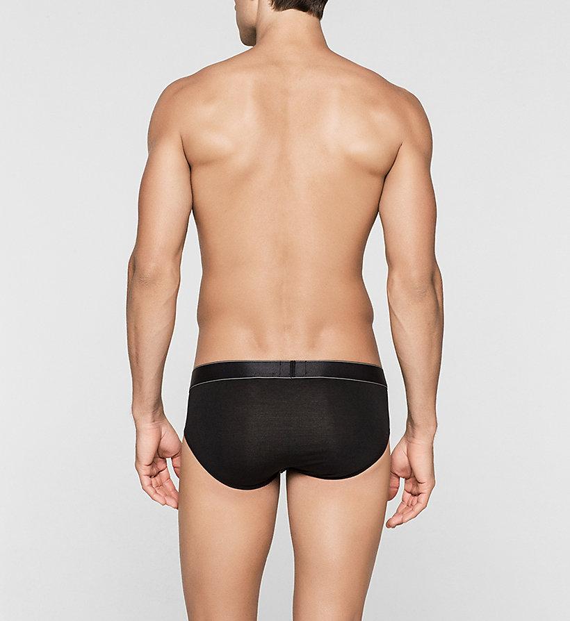 calvinklein hip briefs modern modal black calvin klein underwear. Black Bedroom Furniture Sets. Home Design Ideas