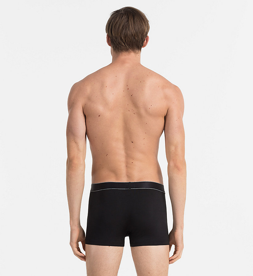 CALVINKLEIN Trunks - Modern Modal - BLACK - CALVIN KLEIN MEN - detail image 1