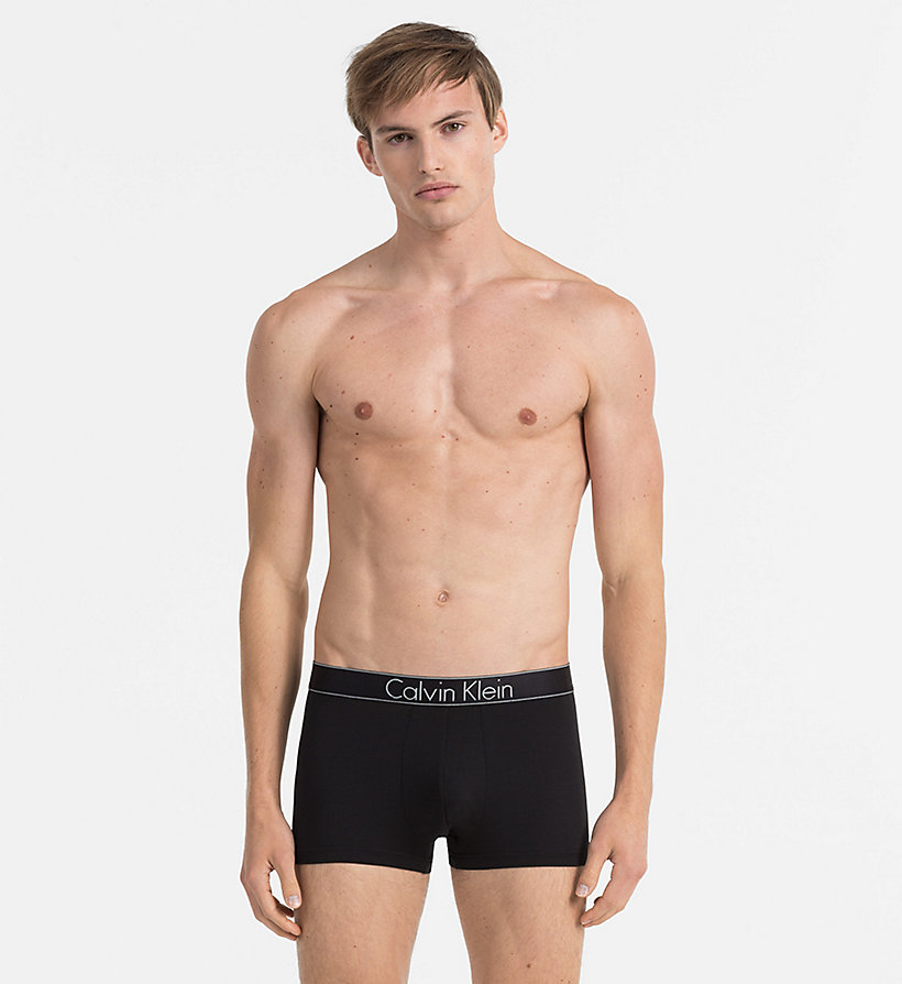 CALVINKLEIN Trunks - Modern Modal - BLACK - CALVIN KLEIN MEN - main image