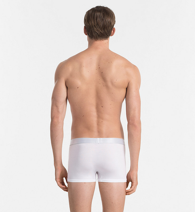 CALVINKLEIN Trunks - Modern Modal - WHITE - CALVIN KLEIN MEN - detail image 1