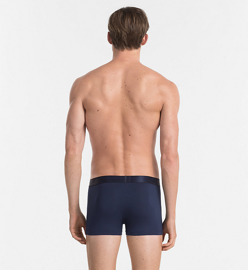 CALVINKLEIN Trunks - Modern Modal - BLUE SHADOW - CALVIN KLEIN MEN - detail image 1