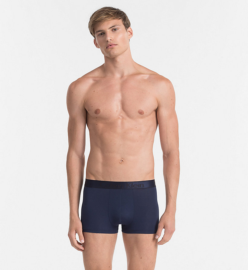 CALVINKLEIN Trunks - Modern Modal - BLUE SHADOW - CALVIN KLEIN MEN - main image