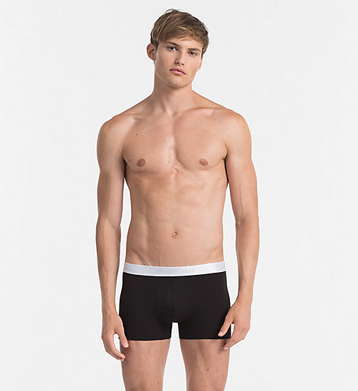 Boxer - Liquid Stretch - BLACK - CALVIN KLEIN HEREN - main image