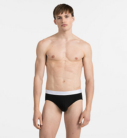 CALVIN KLEIN Hip Briefs - Liquid Stretch 000NB1194A001