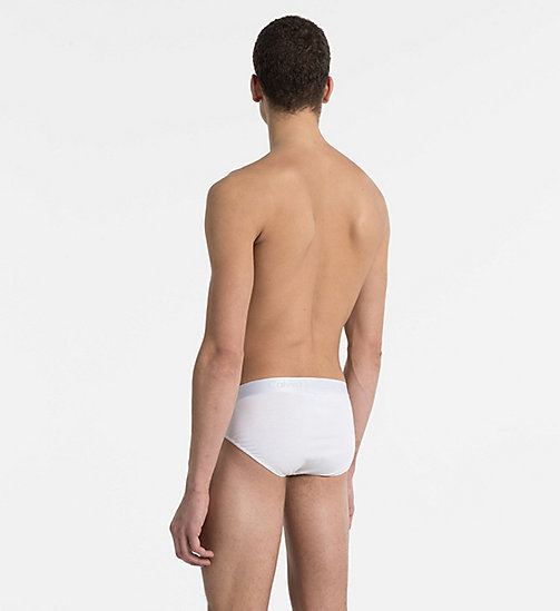 CALVINKLEIN Hip Briefs - Liquid Stretch - WHITE - CALVIN KLEIN BRIEFS - detail image 1
