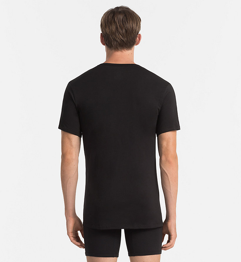 CALVINKLEIN T-Shirt - Liquid Stretch - BLACK - CALVIN KLEIN HERREN - main image 1