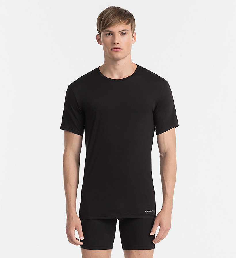 CALVINKLEIN T-shirt - Liquid Stretch - BLACK - CALVIN KLEIN MEN - main image