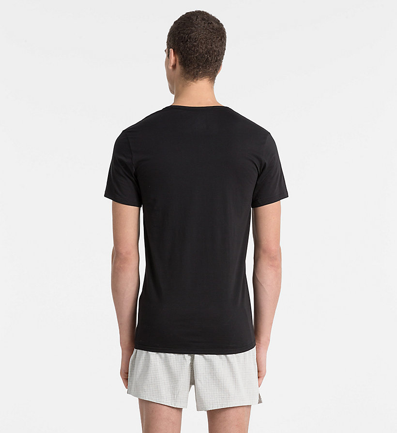 CALVINKLEIN T-Shirt - Liquid Stretch - BLACK - CALVIN KLEIN T-SHIRTS - main image 1