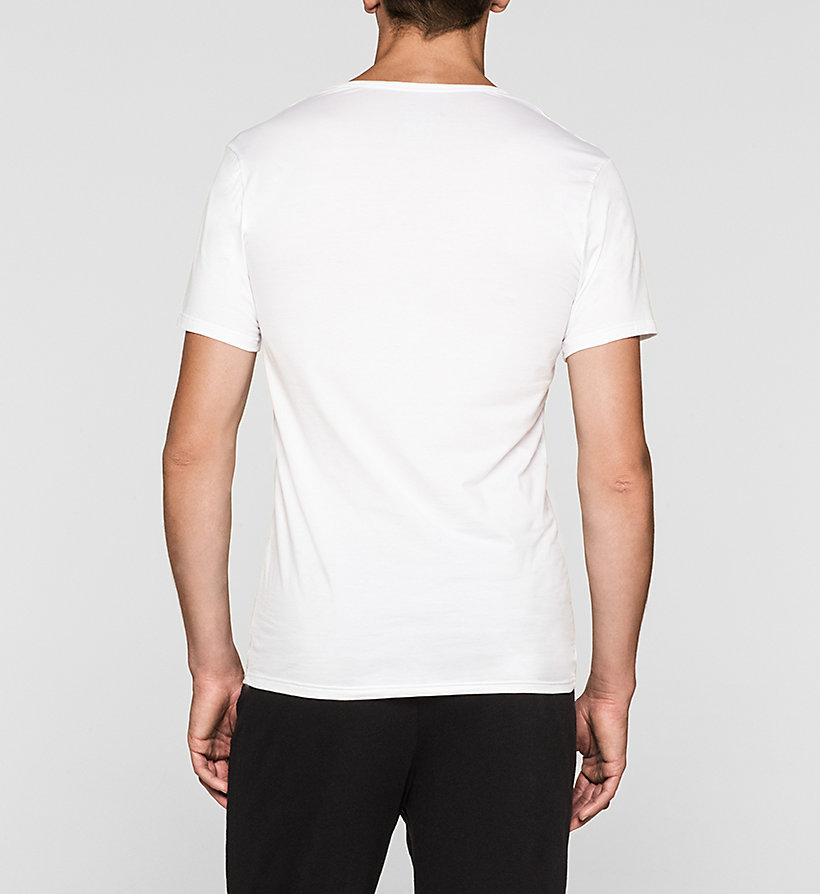 CALVINKLEIN T-Shirt - Liquid Stretch - WHITE - CALVIN KLEIN T-SHIRTS - main image 1