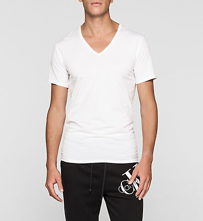 CALVIN KLEIN T-Shirt - Liquid Stretch 000NB1217A100