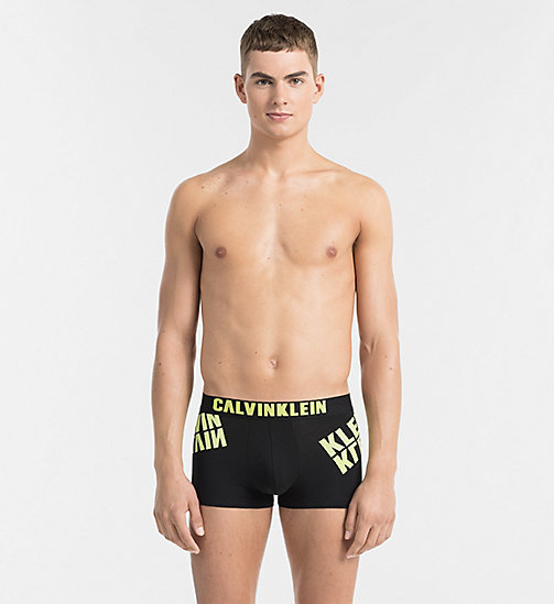 CALVINKLEIN Trunks - Calvin Klein ID - BLACK W REBEL LOGO - CALVIN KLEIN NEW ARRIVALS - main image