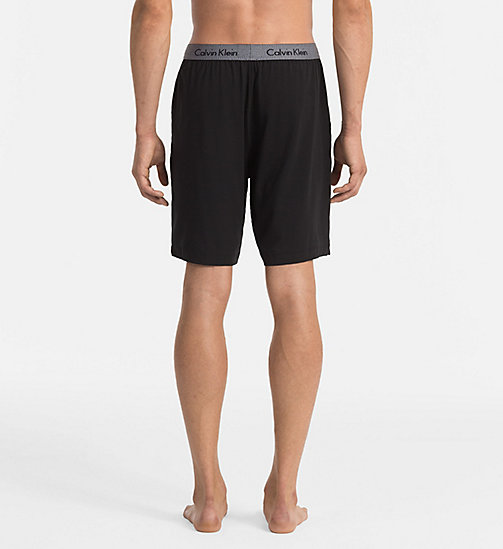CALVINKLEIN Shorts - Cotton Modal - BLACK - CALVIN KLEIN NIGHTWEAR & LOUNGEWEAR - detail image 1
