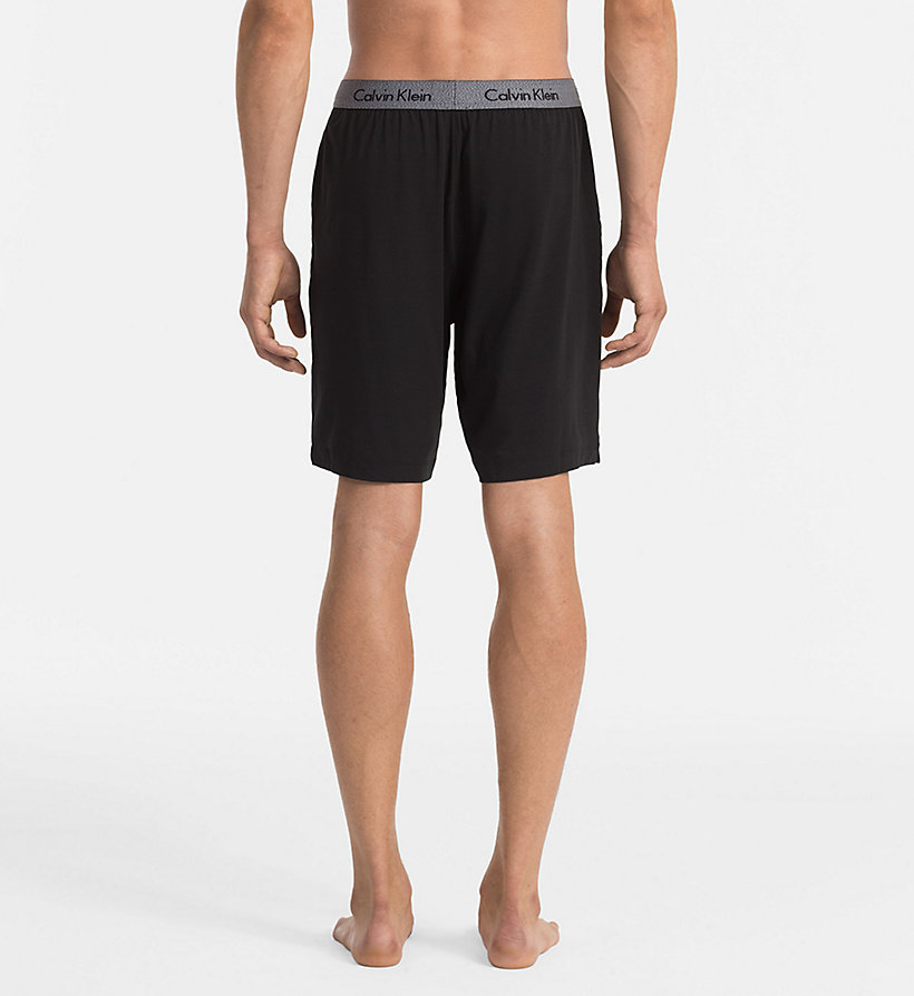 CALVINKLEIN Shorts - Cotton Modal - BLACK - CALVIN KLEIN SHORTS - detail image 1