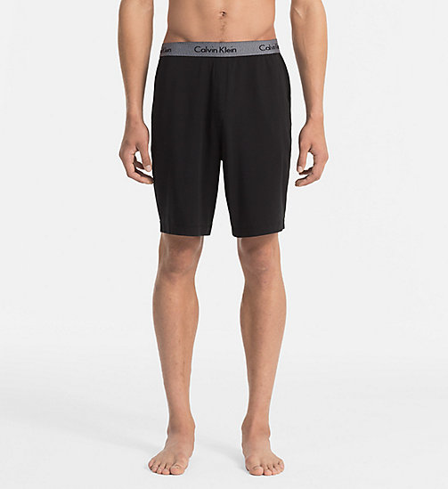 CALVINKLEIN Shorts - Cotton Modal - BLACK - CALVIN KLEIN PYJAMA BOTTOMS - main image
