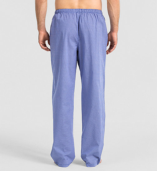 CALVINKLEIN Pants - DIAMOND LATTICE PRINT DARK MI - CALVIN KLEIN NIGHTWEAR & LOUNGEWEAR - detail image 1