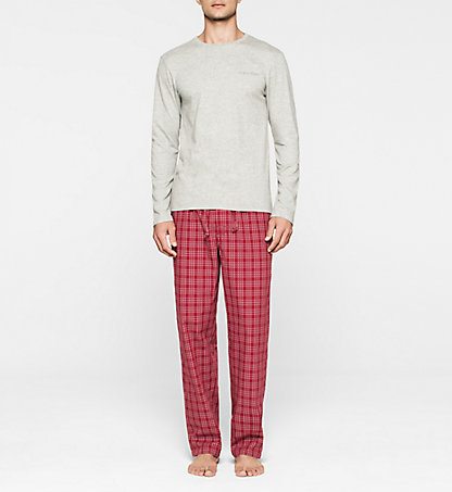 CALVIN KLEIN Pyjama - Holiday 000NM1134EGGG