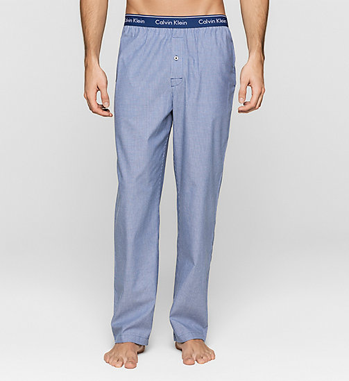 CALVINKLEIN PJ Pants - YARDLEY STRIPE DARK MIDNIGHT - CALVIN KLEIN PYJAMA BOTTOMS - main image