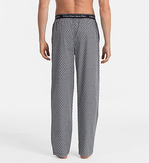 CALVINKLEIN PJ Pants - TRIANGLE WEDGE PRINT BLACK - CALVIN KLEIN PYJAMA BOTTOMS - detail image 1