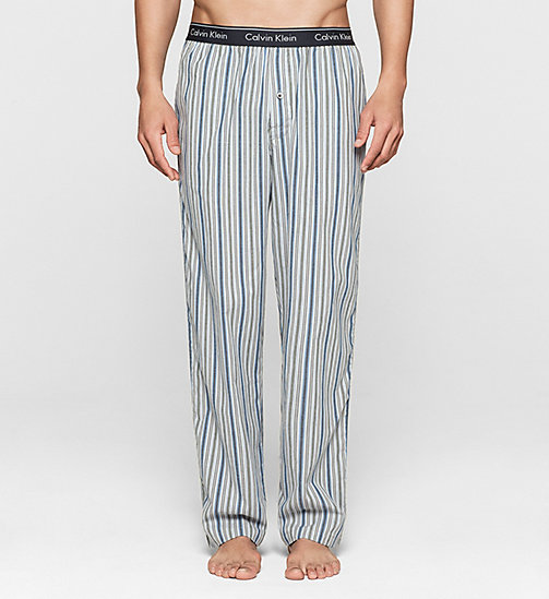 CALVINKLEIN PJ Pants - DYNAMIC STRIPE CARBON BLUE - CALVIN KLEIN NIGHTWEAR & LOUNGEWEAR - main image