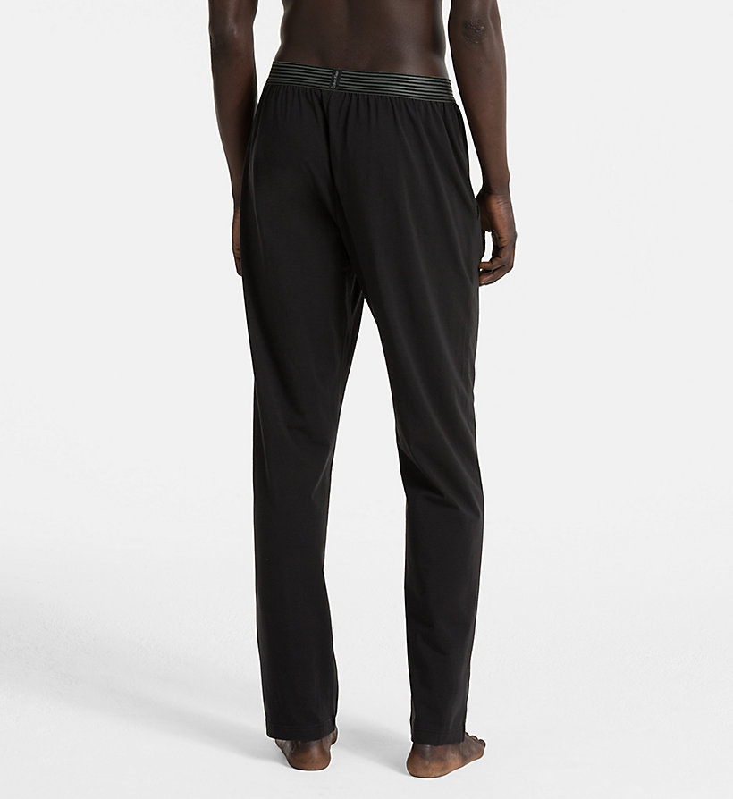 CALVINKLEIN PJ Pants - Iron Strength - BLACK - CALVIN KLEIN TROUSERS - detail image 1