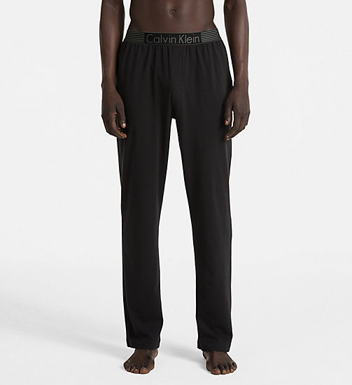 CALVINKLEIN PJ Pants - Iron Strength - BLACK - CALVIN KLEIN PYJAMA BOTTOMS - main image
