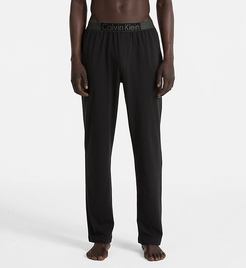 CALVINKLEIN PJ Pants - Iron Strength - BLACK - CALVIN KLEIN TROUSERS - main image