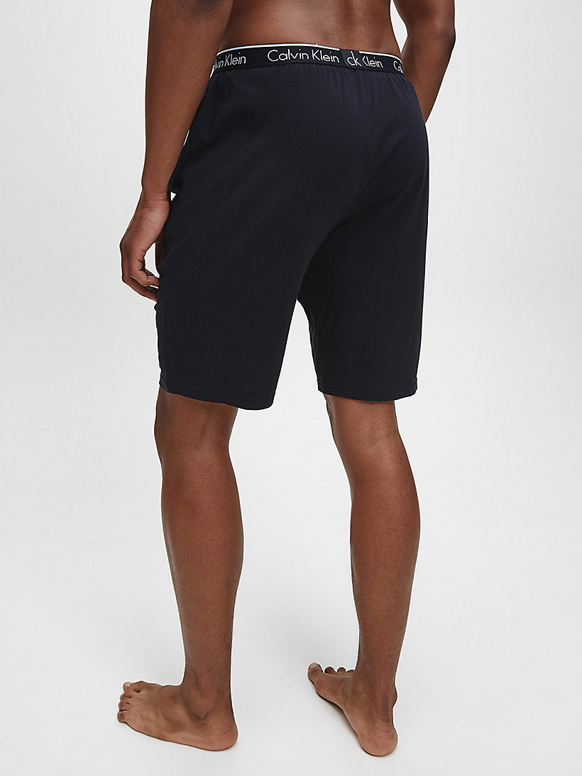 CALVINKLEIN PJ Shorts - CK Sleep - BLACK - CALVIN KLEIN SHORTS - detail image 2