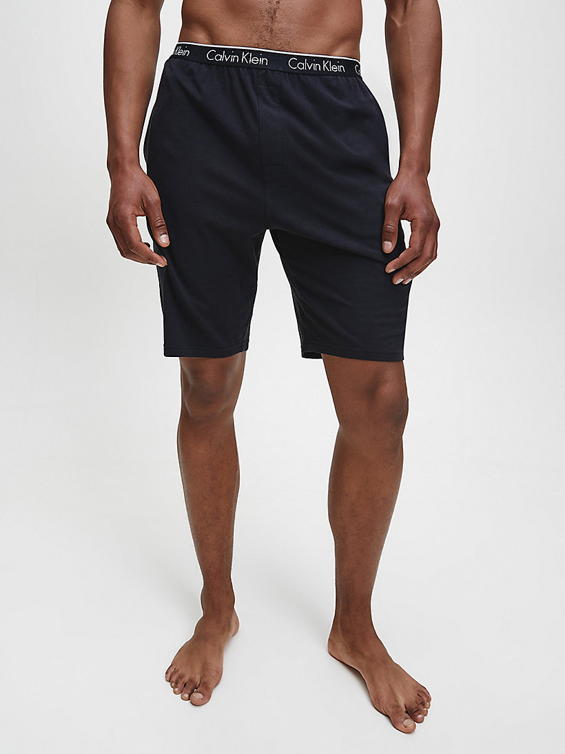 CALVINKLEIN PJ Shorts - CK Sleep - BLACK - CALVIN KLEIN SHORTS - main image