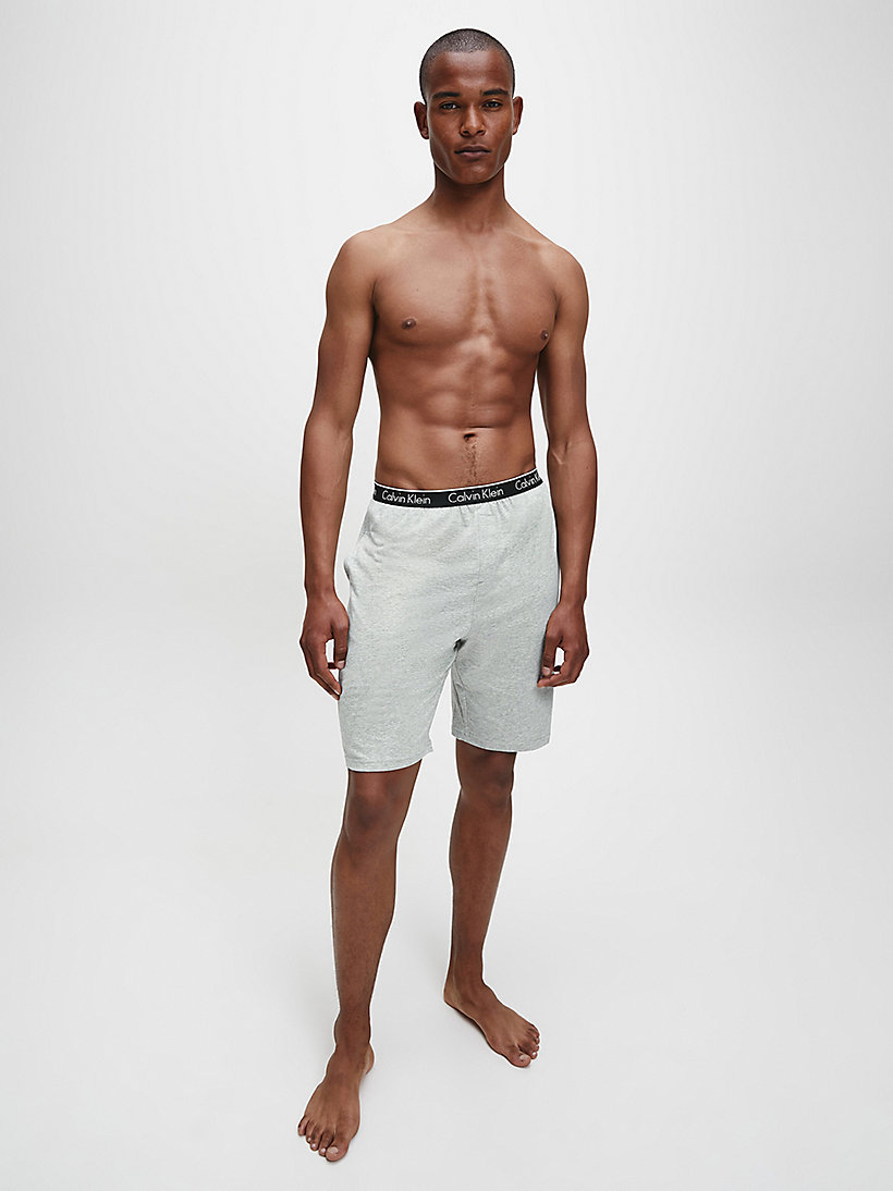 CALVINKLEIN PJ-Shorts - CK Sleep - GREY HEATHER - CALVIN KLEIN SHORTS - main image 1