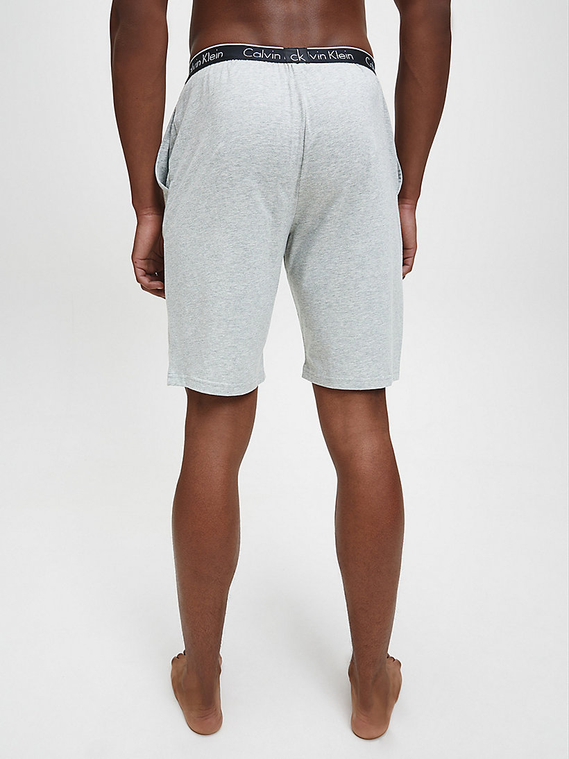 CALVINKLEIN PJ-Shorts - CK Sleep - GREY HEATHER - CALVIN KLEIN SHORTS - main image 2