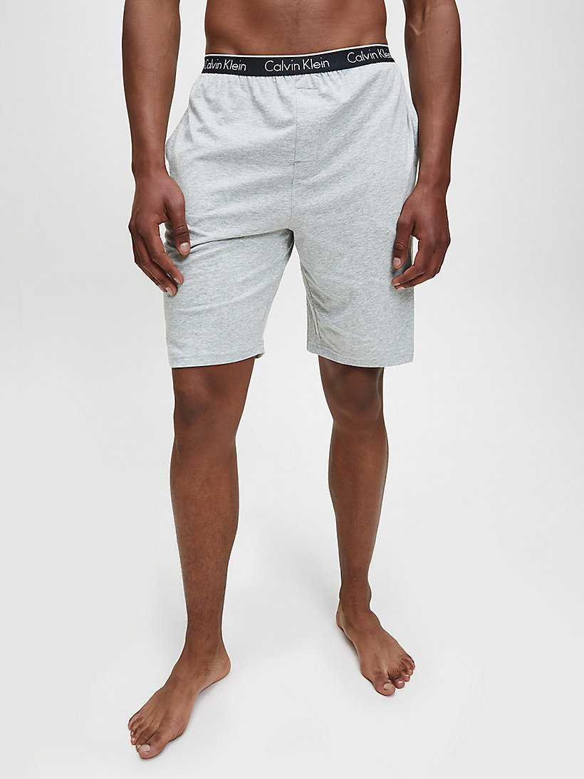 CALVINKLEIN PJ-Shorts - CK Sleep - GREY HEATHER - CALVIN KLEIN SHORTS - main image