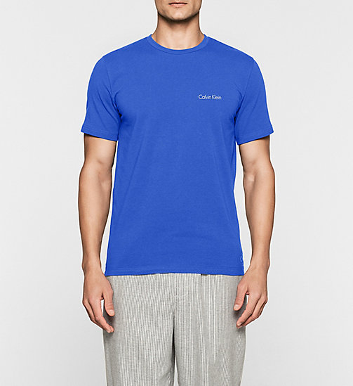 CALVINKLEIN Logo T-shirt - PRUSSIAN - CALVIN KLEIN Up to 40% - main image