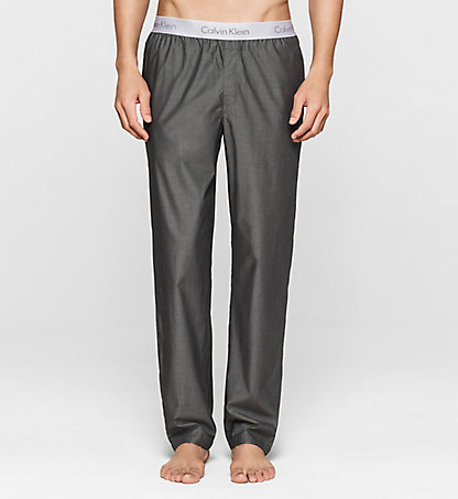 CALVIN KLEIN PJ Pants - Liquid Cotton 000NM1297E038