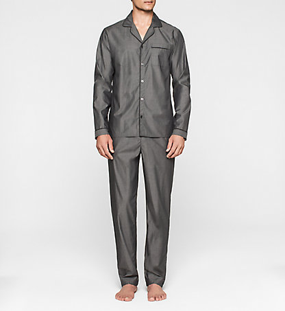 CALVIN KLEIN Pyjama - Liquid Cotton 000NM1334E038