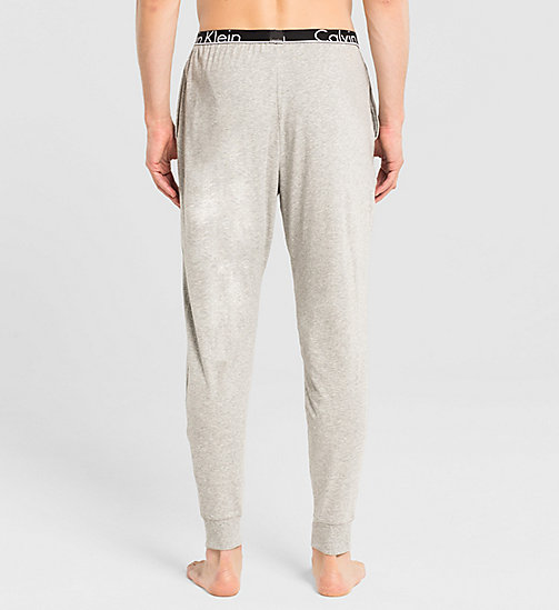 CALVINKLEIN Sweatpants - Calvin Klein ID - GREY HEATHER - CALVIN KLEIN PYJAMA BOTTOMS - detail image 1