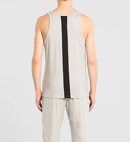 CALVINKLEIN Tank Top - Calvin Klein ID - GREY HEATHER - CALVIN KLEIN NIGHTWEAR & LOUNGEWEAR - detail image 1