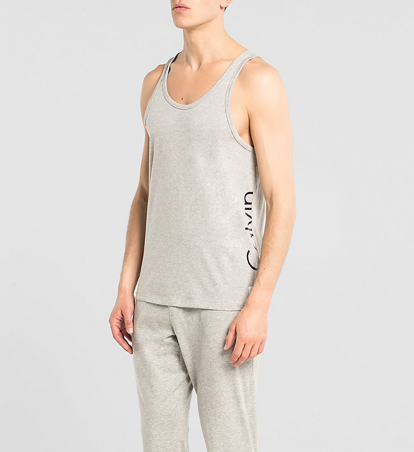 CALVINKLEIN Tank Top - Calvin Klein ID - GREY HEATHER - CALVIN KLEIN T-SHIRTS - main image